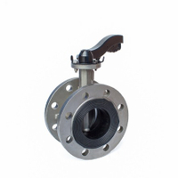 Manual Flanged Butterfly Valves