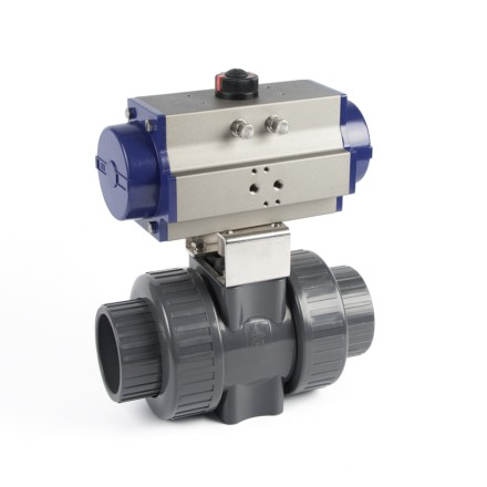 Pneumatic True Union Ball Valves