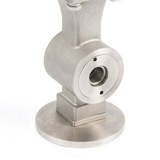 V Type Wafer Connection Ball Valve with O Ring