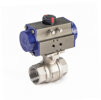 Pneumatic 2-Piece Thread Ball Valves