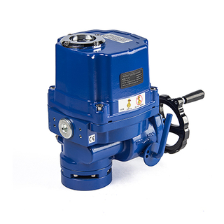 ON-OFF typr or 4-20ma Intelligent regulator electric actuator