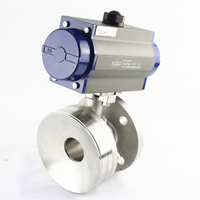 Pneumatic Actuator Bottom Ball Valve