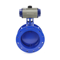 Pneumatic ventilation Butterfly Valves