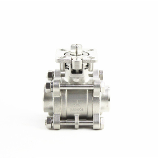 3-Piece Socket Welded Ball Valve