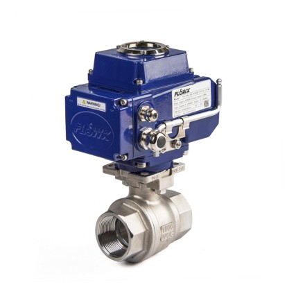 Electric Actuator 2-Piece Thread Ball Valves