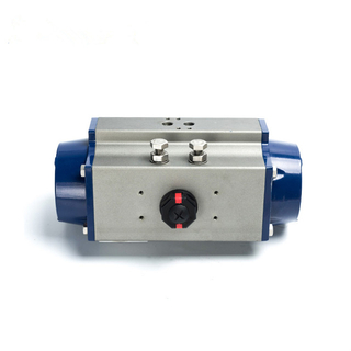 Pneumatic Actuator High Speed Control System Operated Butterfly Valve