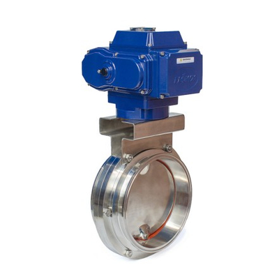 Electric Sanitary Butterfly Valves