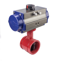 Pneumatic Fire Safety Butterfly Valves