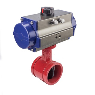 Butterfly Valve For Fire Water Service