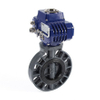 Electric UPVC plastic Butterfly Valves