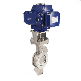 Electric Hard Seal Trip Eccentric Butterfly Valve