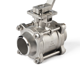 Butt Welding FB Stainless Steel Ball Valve