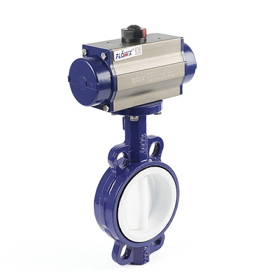 Pneumatic Actuator For Butterfly Valve