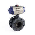 Pneumatic stainless steel butterfly valve benefits