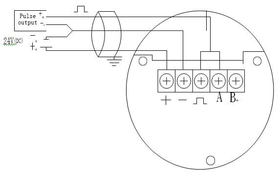 clamp type-vortex flowmeter