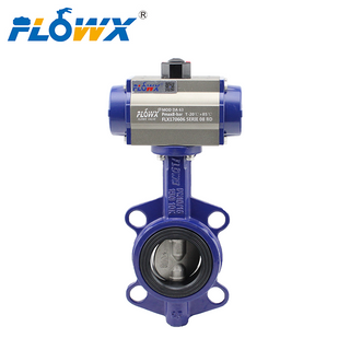 Butterfly Valve Dn800 Connected with Pneumatic Actuator
