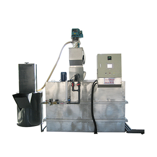Polymer Auto Chemical Dry Powder Dosing Device Used In Water Treatment Industry or The Paper Industry