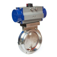 Handwheel Operated 10 Stainless Steel Butterfly Valves