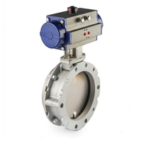 triple offset butterfly valve dimensions