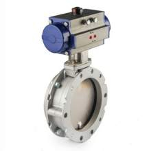 Ttv Valves Double Eccentrich Double Flanged Butterfly Valves