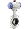 Pneumatic Valves Stainless Steel Butterfly Sms Ø50мм Price