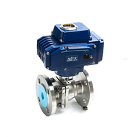 Actuated 2 Way Ball Valves